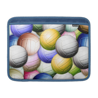 Vollageballのコラージュ MacBook スリーブ