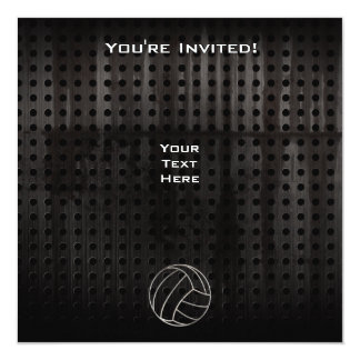 Volleyballl; クールな黒 カード