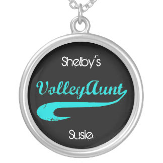 VolleyChick VolleyAuntのネックレス シルバープレートネックレス