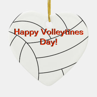Volleytines幸せな日 セラミックオーナメント