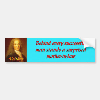 Voltaireの引用文4 バンパーステッカー