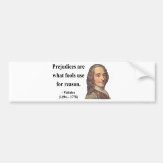 Voltaireの引用文4b バンパーステッカー