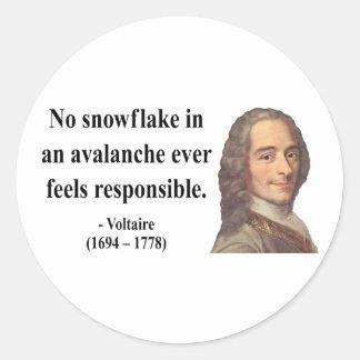 Voltaireの引用文6b ラウンドシール