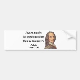 Voltaireの引用文8b バンパーステッカー