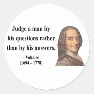 Voltaireの引用文8b ラウンドシール