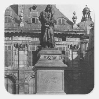 Voltaireの彫像 スクエアシール
