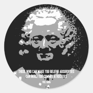 Voltaire -不条理 ラウンドシール