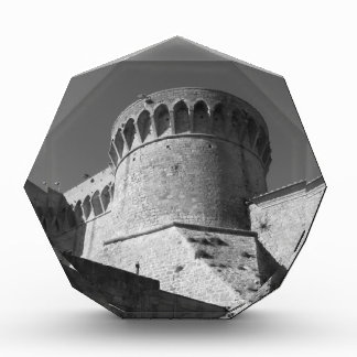 VolterraのFortezza Medicea。 タスカニー、イタリア 表彰盾