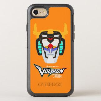 Voltron |着色されたVoltronのヘッドグラフィック オッターボックスシンメトリーiPhone 8/7 ケース
