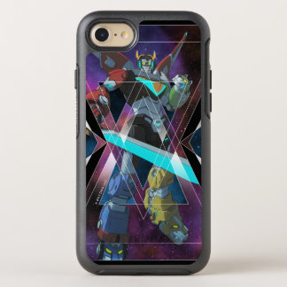Voltron |銀河系間Voltronのグラフィック オッターボックスシンメトリーiPhone 8/7 ケース