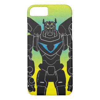 Voltron   Voltronの黒いシルエット iPhone 8/7ケース