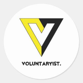 Voluntaryist. ラウンドシール