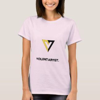 Voluntaryist. Tシャツ