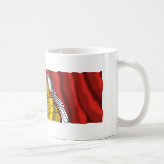 Voronezh Oblastの旗 コーヒーマグカップ