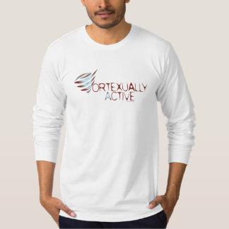 Vortexuallyの活動的な人の長袖 Tシャツ