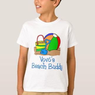Vovoのビーチの相棒 Tシャツ