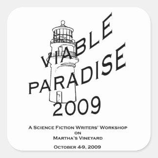 VP13 (2009年の)ステッカー スクエアシール