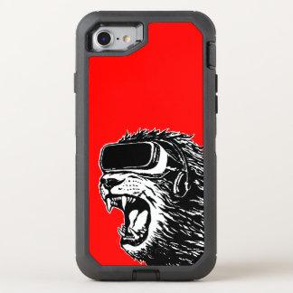 VRのライオン オッターボックスディフェンダーiPhone 8/7 ケース