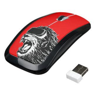 VRのライオン ワイヤレスマウス