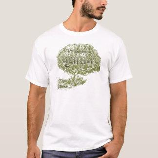 Vriksasanaの~Yogaの木の姿勢 Tシャツ