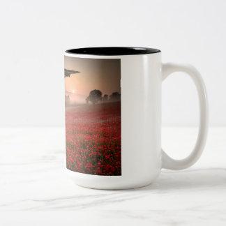 Vulcanは覚えています ツートーンマグカップ