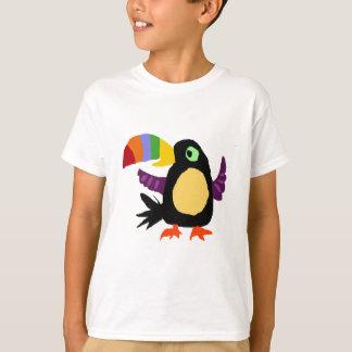 VW-おもしろいなToucanの鳥の原住民の芸術 Tシャツ