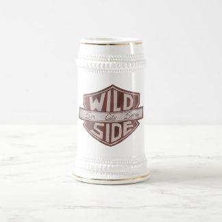 VWSの盾のロゴステイン ビールジョッキ