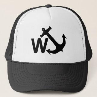 WのいかりのWanchorの冗談のおもしろいなギフト キャップ