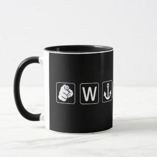 Wのいかり マグカップ