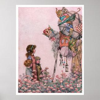 Wのヒースのロビンソンのイラストレーションビル世話人 ポスター