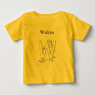 Wはセイウチのためです ベビーTシャツ