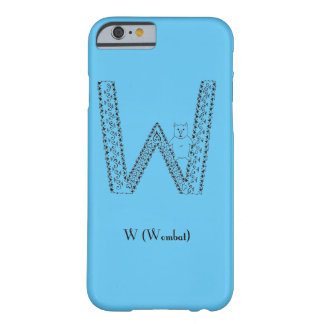 Wはwombatのためです Barely There iPhone 6 ケース