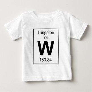 W -タングステン ベビーTシャツ