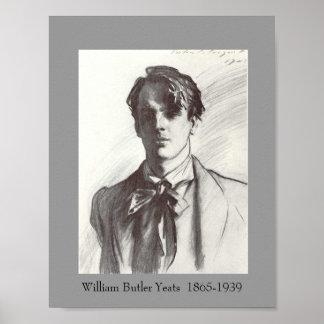 W.B. Yeats ポスター