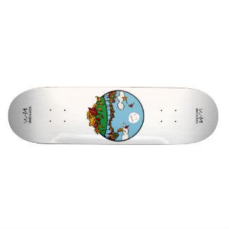 W.M. スケートボードのデッキ-秋の版 スケートボード