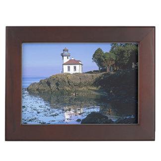 WAのサンファン島、石灰がまの灯台 ジュエリーボックス