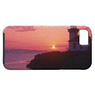 WAのサンファン島、石灰がまLighthouse 1919年、 iPhone SE/5/5s ケース