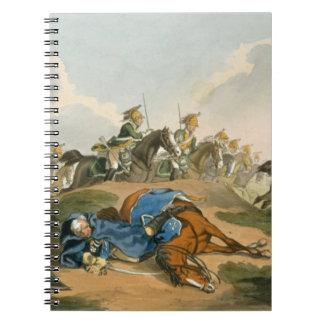 Waの戦いの彼の馬の下のBlucher王子 ノートブック