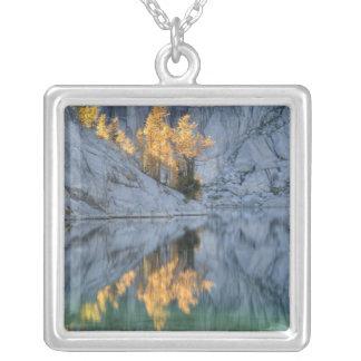 WAの高山湖の荒野、魔法3 シルバープレートネックレス