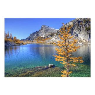 WAの高山湖の荒野、魔法 フォトプリント