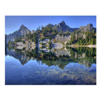 WAの高山湖の荒野、2のgem湖、 ポストカード
