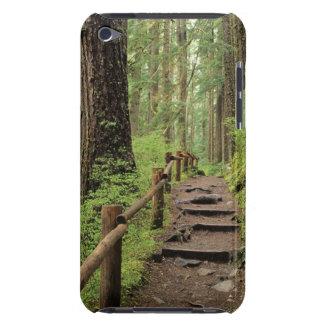 WA、オリンピックNPのSOL Ducの谷、雨林 Case-Mate iPod Touch ケース