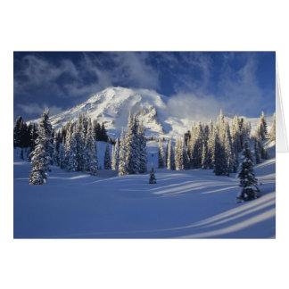 WA、レーニア山NP、レーニア山および楽園 カード