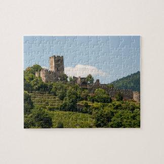 Wachauオーストリアの騎士の城 ジグソーパズル