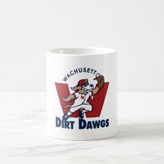 Wachusettの土のDawgsの大学の野球チームのロゴ コーヒーマグカップ