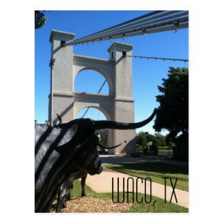 Wacoの吊り橋 ポストカード