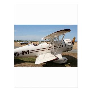 Wacoの複葉機の航空機 ポストカード