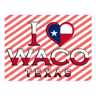 Waco、テキサス州 ポストカード