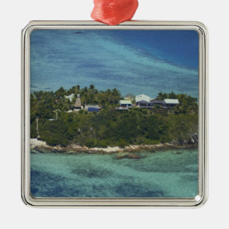 Wadigiの島、Mamanucaの島、フィージー2 メタルオーナメント