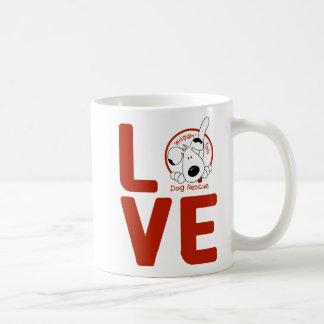 Wagginは愛マグの後につきます コーヒーマグカップ